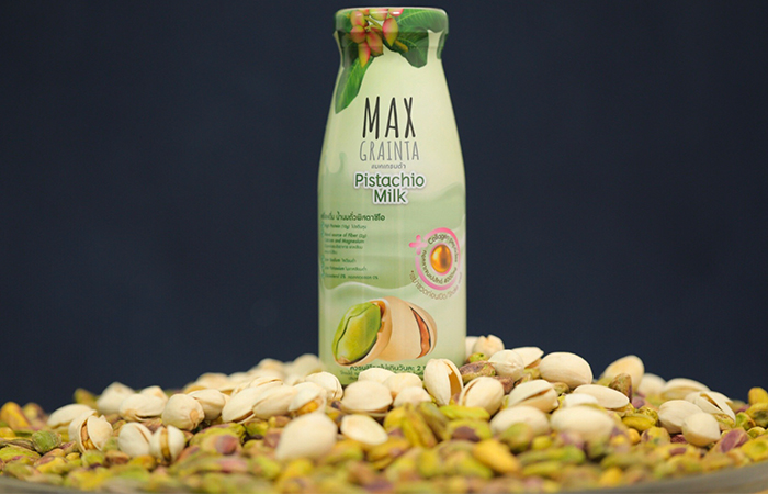 การสั่งซื้อ น้ำนมแมคคาเดเมีย น้ำนมพิสตาชิโอ น้ำนมอัลมอนด์ นมถั่วที่อร่อยและดีต่อสุขภาพ