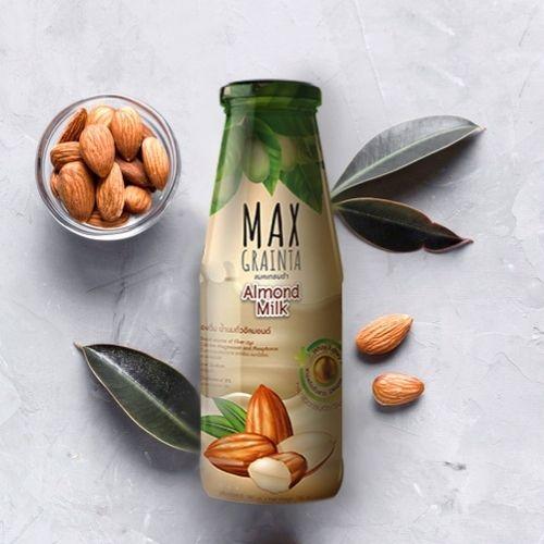 หลอดเลือดอุดตันแก้ได้ด้วย นมอัลมอนด์ นมถั่วเพื่อสุขภาพจาก Maxgrainta