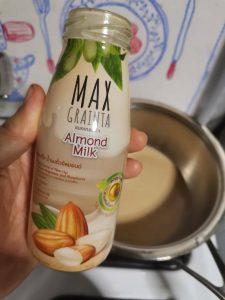 สูตรโยเกิร์ตจากนมถั่วอัลมอนด์ และนมแมคคาเดเมีย MAXGRAINTA
